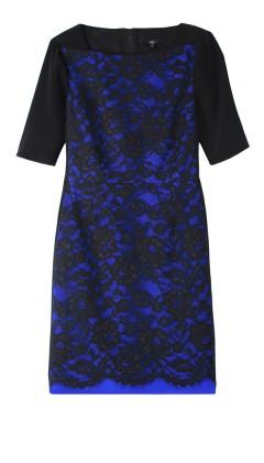 Epstein Lace Short Sleeve Dress