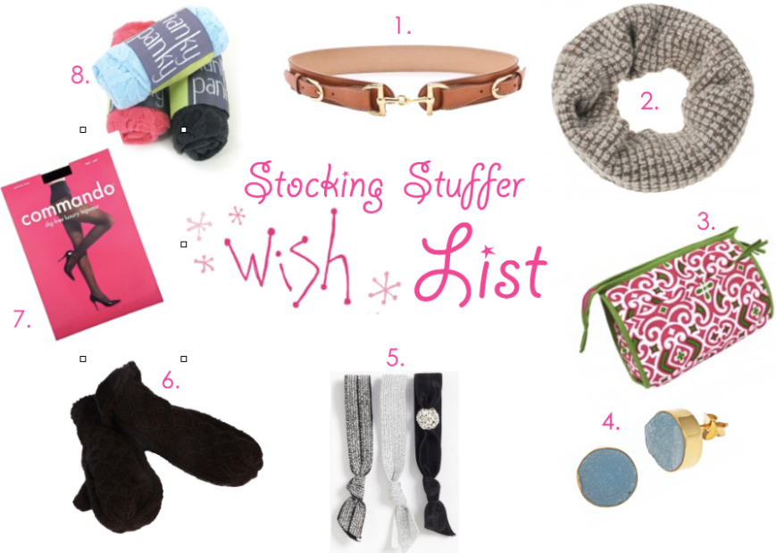 Besides finding the perfect holiday outfit, make sure to check out our wonderful stocking stuffers!