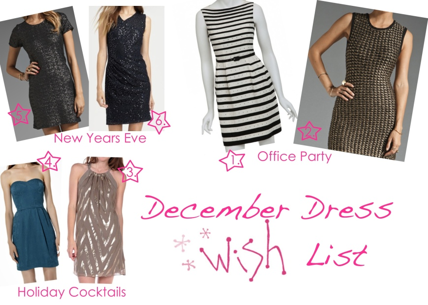 Collage of Wish Dresses