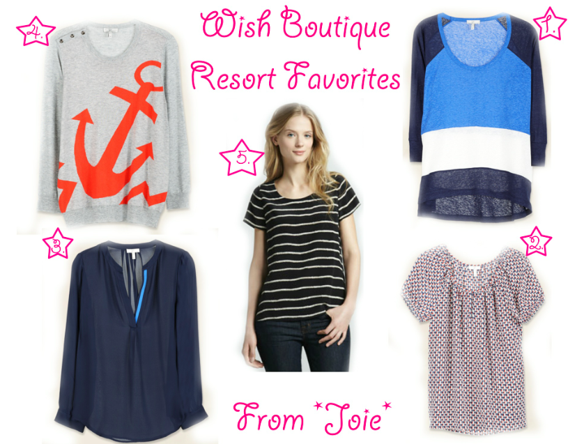 Joie Resort Favorites at Wish