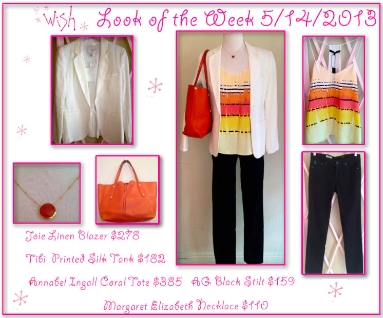 Look of the week 5/14/13