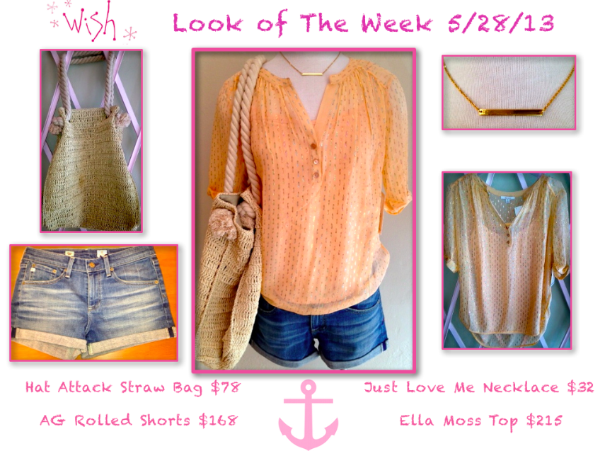 Look of the week 5/28/13