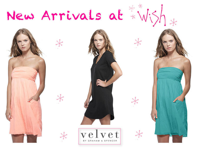 New Arrivals from Velvet by Graham & Spencer