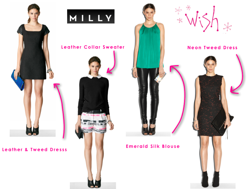 Milly New Arrivals at Wish!