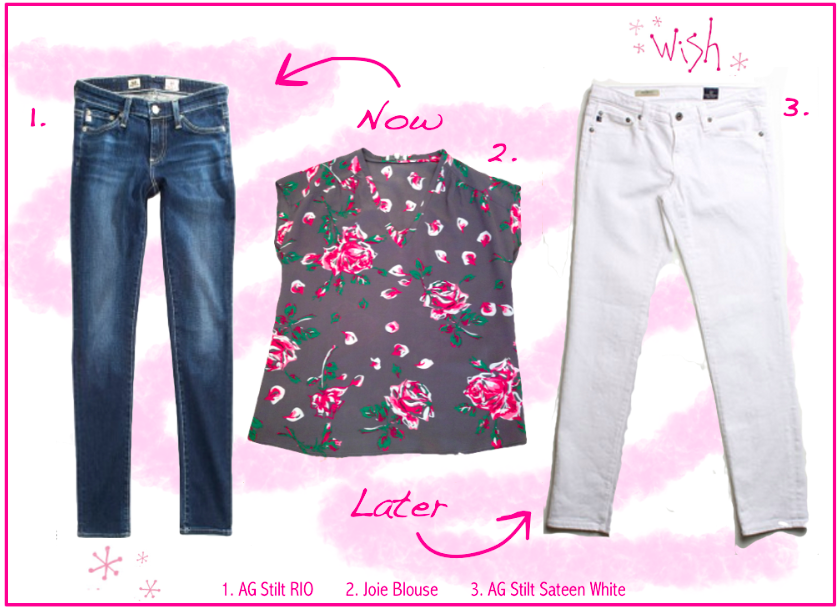 Floral Top Wish Collage